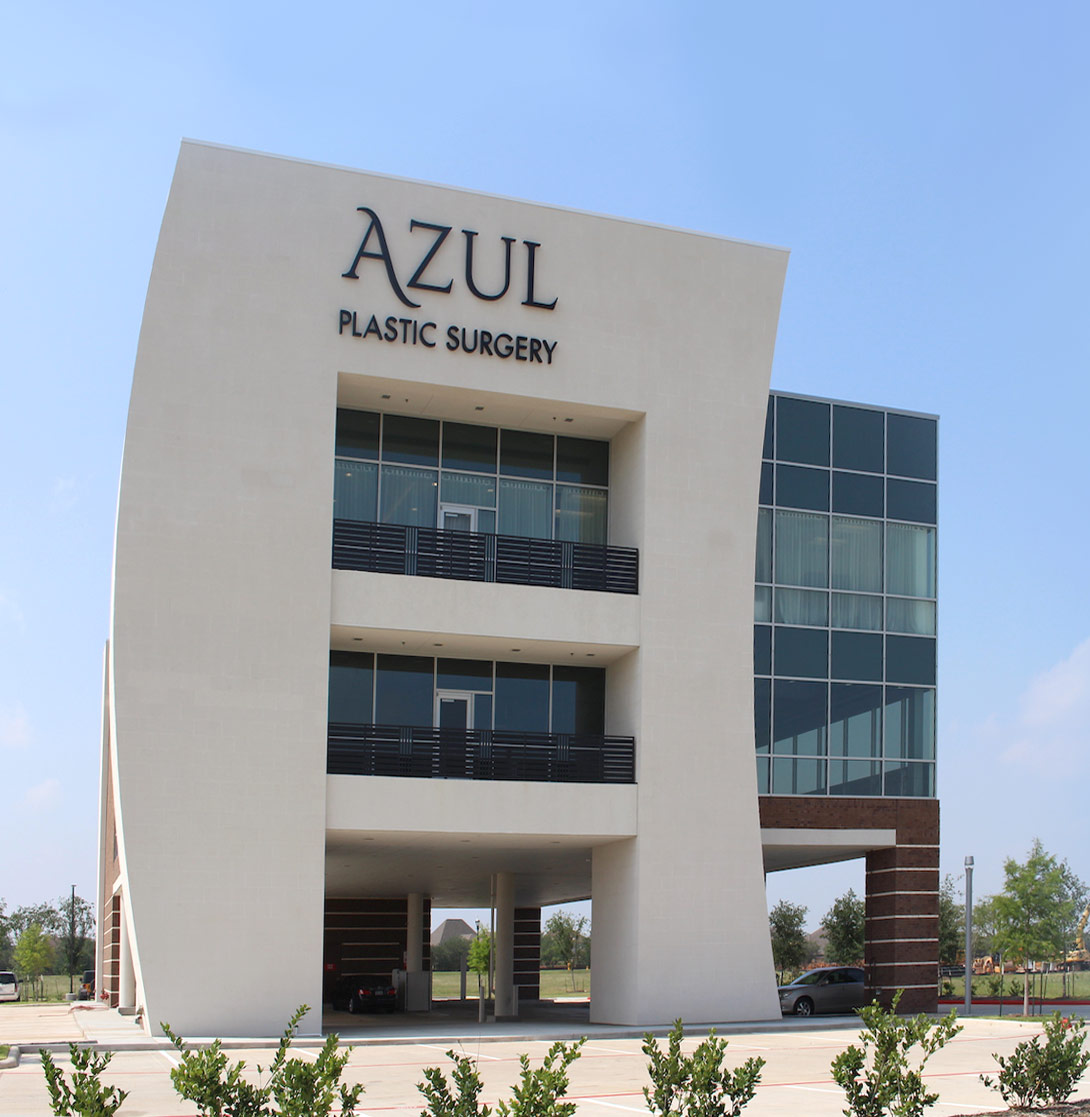 Azul Plastic Surgery's Sugar Land Building
