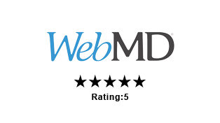 Azul Plastic Surgery 5-star rating on WebMD